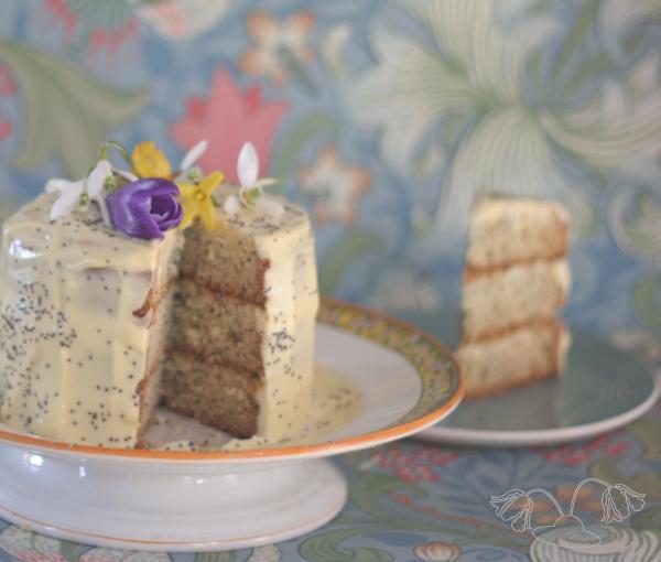 Lemoncurd maanzaad taart recept van Mrs Janet