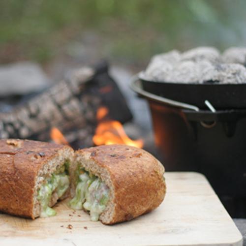 recept gevuld brood dutch oven